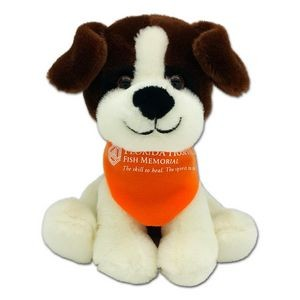 "6"" Canine Collection - White & Brown"