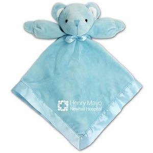 Blue Bear Baby Blanket