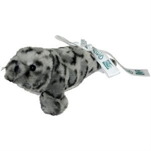 "7"" Realistic Two Tone Gray Beach Seal"