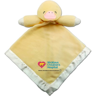 Yellow Duck Baby Blanket